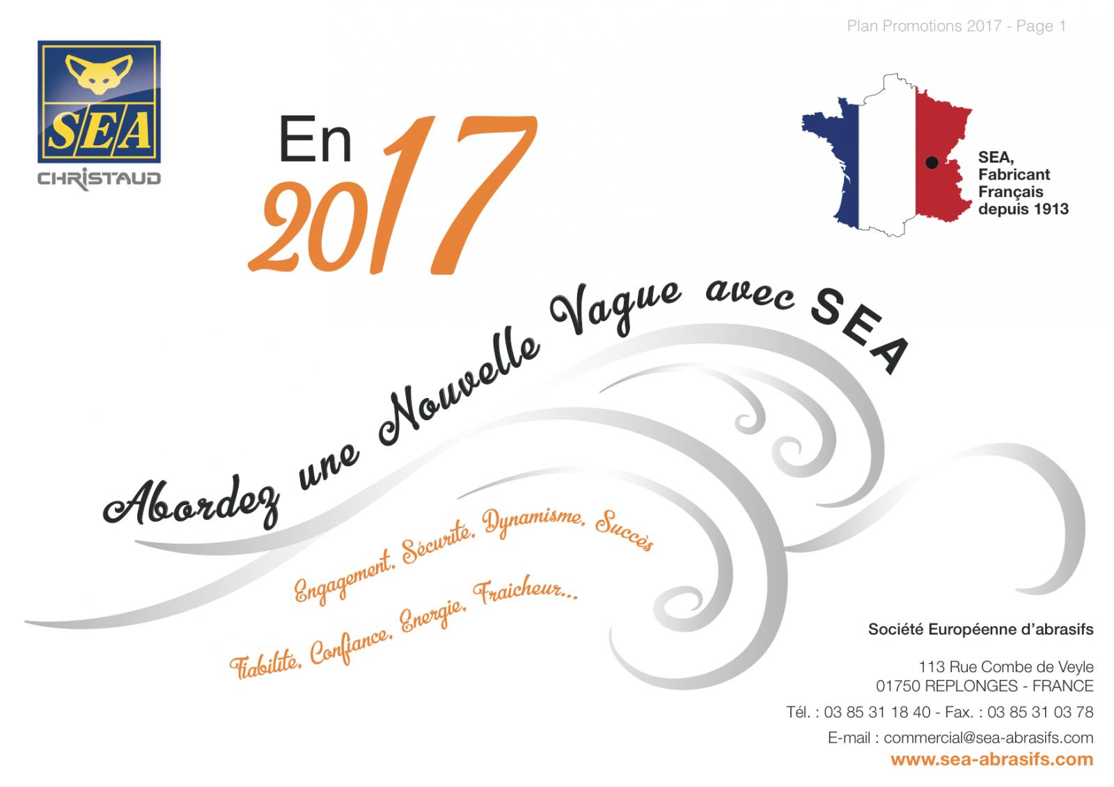 PROMOTION DU 15 SEPTEMBRE AU 15 DÉCEMBRE 2017 : SEA MAINTIENT LE RYTHME !